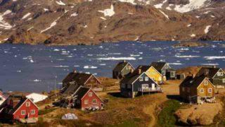 アイスランド グリーンランド
